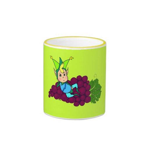 Goblin gordo lindo taza a dos colores