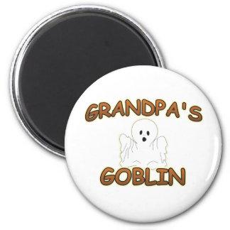GOBLIN GRANDPA BOY.png 2 Inch Round Magnet