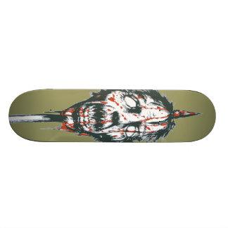 Goblin Head on a Pole Skateboard Deck