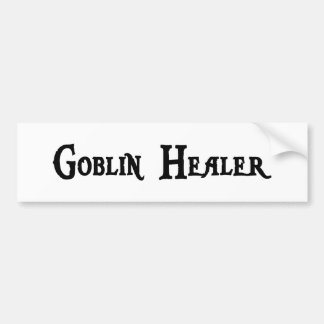 Goblin Healer Bumper Sticker