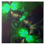 Goblin irlandés - cintas de la esmeralda y del oro teja