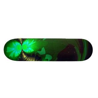Goblin irlandés - cintas de la esmeralda y del oro patín