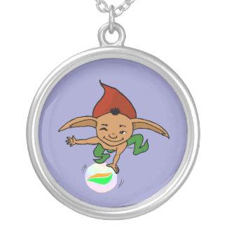 Goblin juguetón colgante redondo