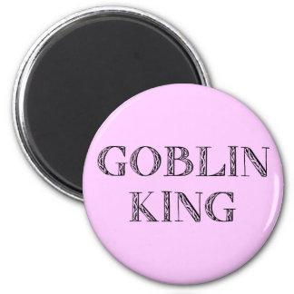 Goblin King 2 Inch Round Magnet