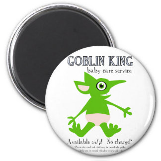 Goblin King Baby Care Service Magnets