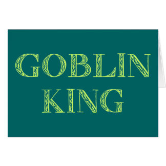 Goblin King Card