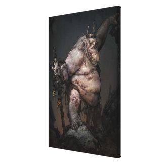Goblin King Concept Canvas Print