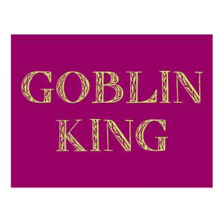 Goblin King Postcard
