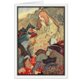 Goblin Market by Florence Harrison Greeting Card