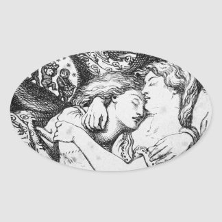 Goblin Market [Christina Rossetti] Oval Sticker