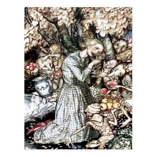 Goblin Market Postcard