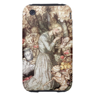 Goblin Market: precious golden lock iPhone 3 Tough Cover