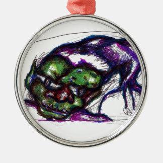 Goblin Metal Ornament