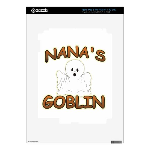 GOBLIN NANA iPad 3 SKIN