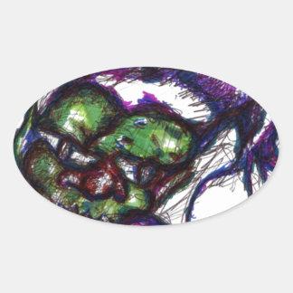 Goblin Oval Sticker