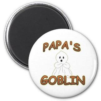 GOBLIN PAPA 2 INCH ROUND MAGNET