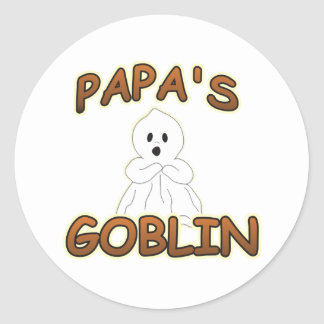 GOBLIN PAPA CLASSIC ROUND STICKER