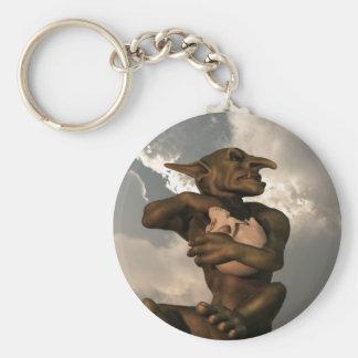 Goblin Popcorn Keychain