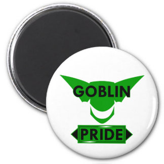 Goblin Pride 2 Inch Round Magnet