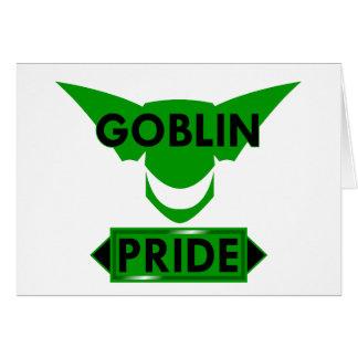 Goblin Pride Card