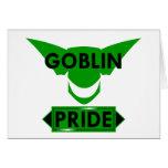 Goblin Pride Greeting Card