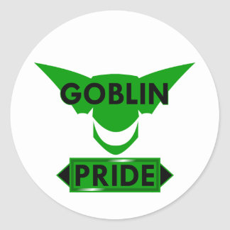 Goblin Pride Round Sticker