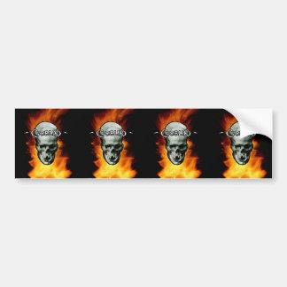 Goblin Skull Bumper Sticker