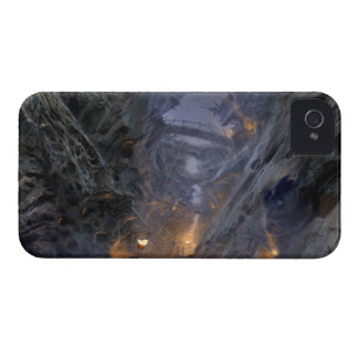 Goblin Town Concept - Bridges iPhone 4 Cover