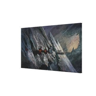 Goblin Town Concept - Goblin Prisoners Canvas Print