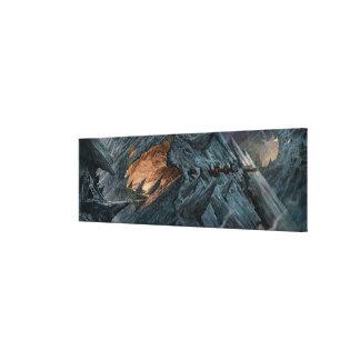 Goblin Town Concept - Pathway Canvas Print