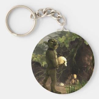 Goblin Treasure Keychain