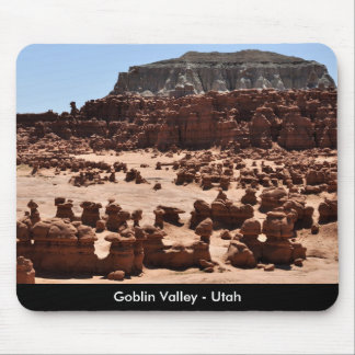 Goblin Valley Rock Formations - Utah Mouse Pad
