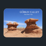 "Goblin Valley State Park Magnet<br><div class=""desc"">Goblin shaped rock formations in Goblin Valley State Park,  Utah.</div>"