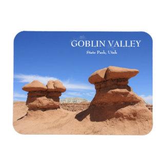 Goblin Valley State Park Rectangular Photo Magnet