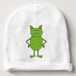 Goblin verde lindo gorrito para bebe