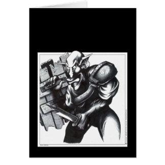 Goblin Warrior Card