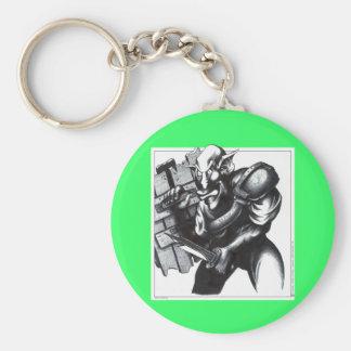 Goblin Warrior Keychain