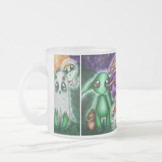 Goblins brujas y sustos oh mis Halloween lindo Taza De Café
