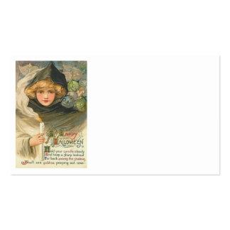 Goblins de la mujer tarjetas de visita