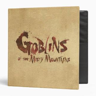 """Goblins de las montañas brumosas carpeta 1 1/2"""""""