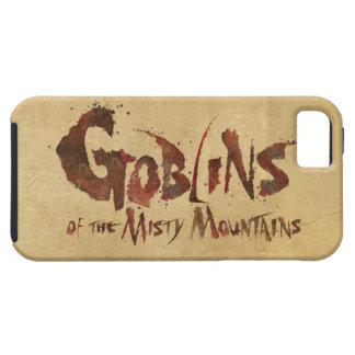 Goblins de las montañas brumosas iPhone 5 funda