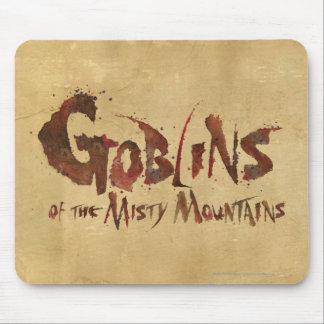 Goblins de las montañas brumosas tapete de raton