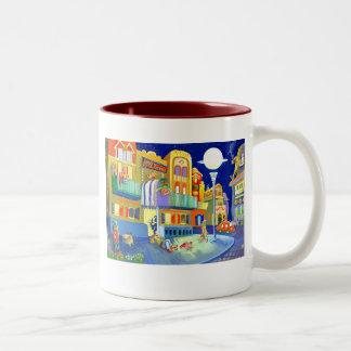 Goblins' hotel Two-Tone coffee mug