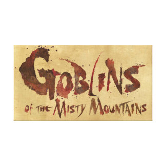 Goblins of the Misty Mountains Canvas Print