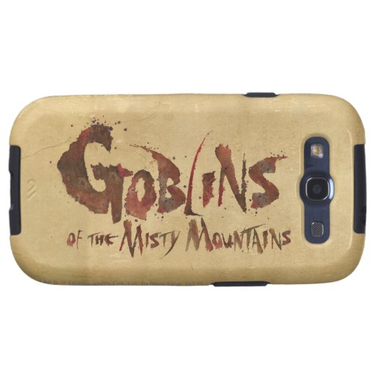Goblins of the Misty Mountains Galaxy S3 Case