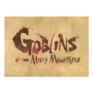 Goblins of the Misty Mountains Custom Announcements