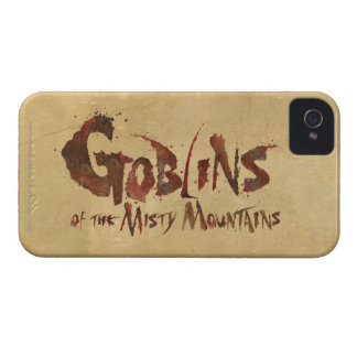 Goblins of the Misty Mountains iPhone 4 Case-Mate Case