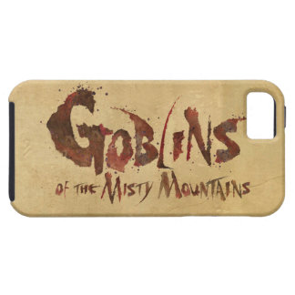 Goblins of the Misty Mountains iPhone SE/5/5s Case