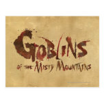 Goblins of the Misty Mountains Post Cards