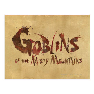 Goblins of the Misty Mountains Postcard